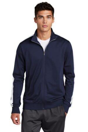 JST94 sport-tek tricot track jacket