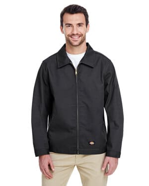 JT75 Dickies men's 8 oz unlined eisenhower jacket