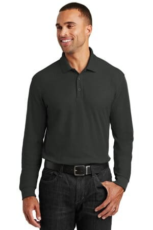 port authority long sleeve core classic pique polo k100ls