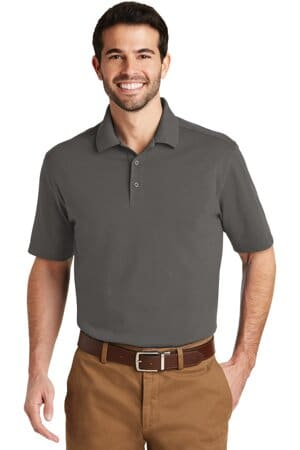 K164 port authority superpro knit polo k164