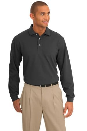 K455LS port authority rapid dry long sleeve polo k455ls