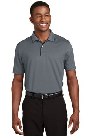 sport-tek dri-mesh polo with tipped collar and piping k467
