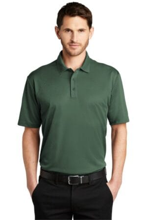 K542 port authority heathered silk touch performance polo