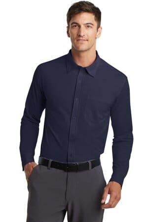K570 port authority dimension knit dress shirt k570