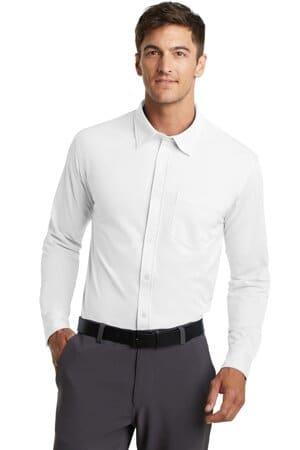 K570 port authority dimension knit dress shirt