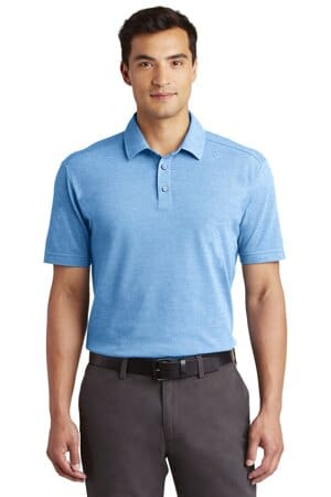 K581 port authority coastal cotton blend polo k581