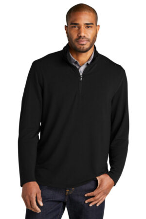 K825 port authority microterry 1/4-zip pullover