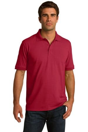 KP55 port & company core blend jersey knit polo kp55