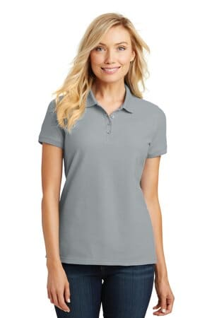 port authority ladies core classic pique polo l100