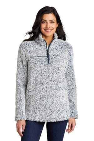L130 port authority ladies cozy 1/4-zip fleece l130