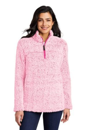 L130 port authority ladies cozy 1/4-zip fleece l130