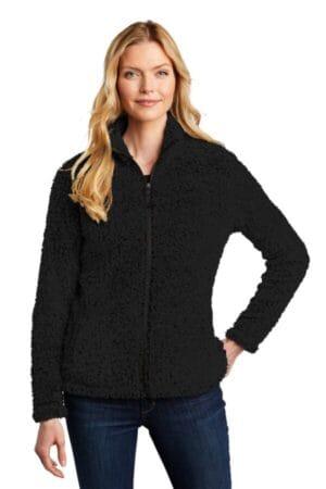 L131 port authority ladies cozy fleece jacket