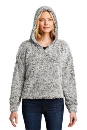 L132 port authority ladies cozy fleece hoodie