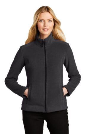 L211 port authority ladies ultra warm brushed fleece jacket