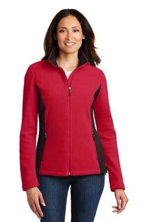 L216 port authority ladies colorblock value fleece jacket