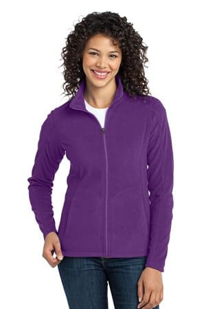 L223 port authority ladies microfleece jacket l223
