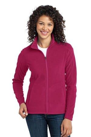 L223 port authority ladies microfleece jacket l223