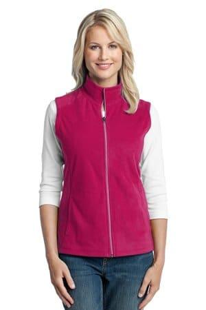 L226 port authority ladies microfleece vest l226