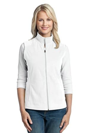 L226 port authority ladies microfleece vest