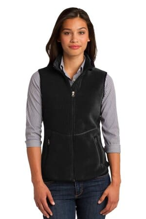 port authority ladies r-tek pro fleece full-zip vest l228