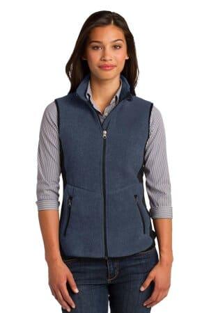 L228 port authority ladies r-tek pro fleece full-zip vest