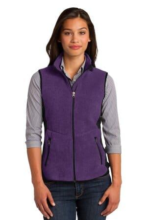 port authority ladies r-tek pro fleece full-zip vest l228