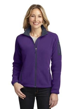 L229 port authority ladies enhanced value fleece full-zip jacket