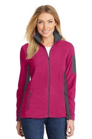 port authority ladies summit fleece full-zip jacket l233