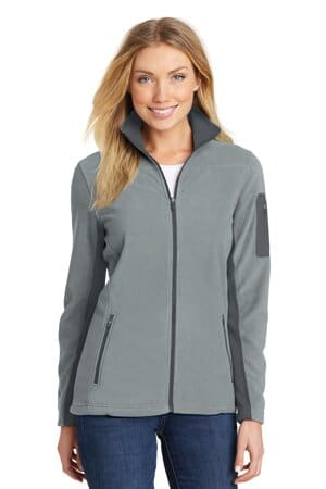 port authority ladies summit fleece full-zip jacket l233