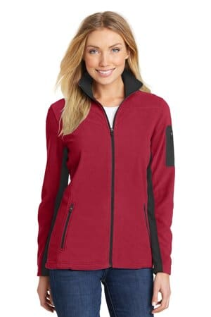 L233 port authority ladies summit fleece full-zip jacket