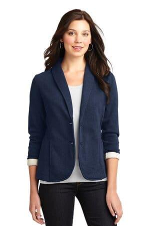 L298 port authority ladies fleece blazer l298