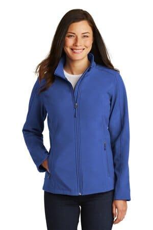 port authority ladies core soft shell jacket l317