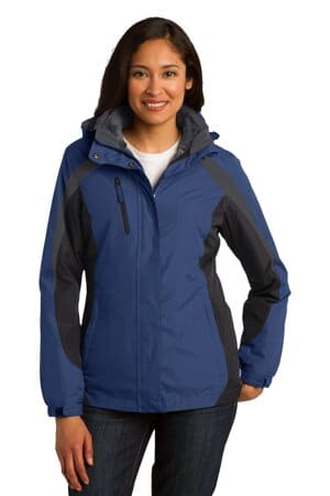 L321 port authority ladies colorblock 3-in-1 jacket
