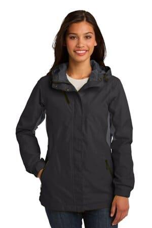 port authority ladies cascade waterproof jacket l322