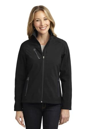 L324 port authority ladies welded soft shell jacket