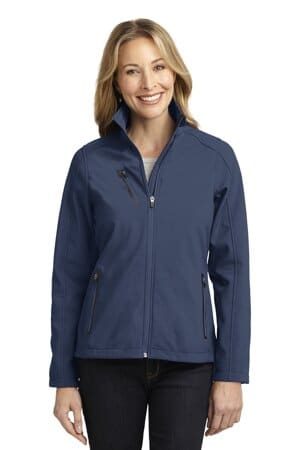port authority ladies welded soft shell jacket l324