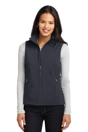 L325 port authority ladies core soft shell vest l325