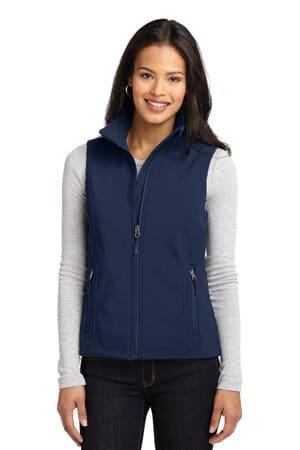 L325 port authority ladies core soft shell vest