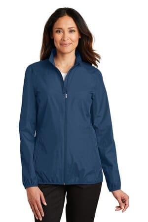 L344 port authority ladies zephyr full-zip jacket