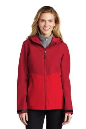 L406 port authority ladies tech rain jacket l406