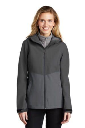 L406 port authority ladies tech rain jacket