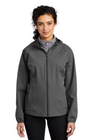 L407 port authority ladies essential rain jacket