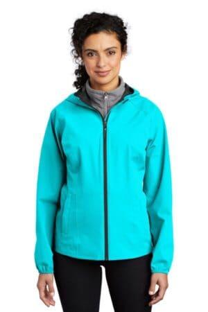 L407 port authority ladies essential rain jacket l407