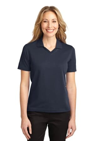 L455 port authority ladies rapid dry polo l455