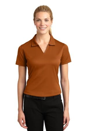 L469 sport-tek ladies dri-mesh v-neck polo l469