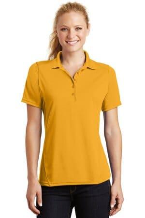 L475 sport-tek ladies dry zone raglan accent polo