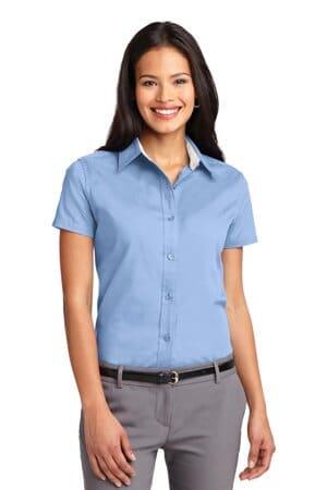 L508 port authority ladies short sleeve easy care shirt