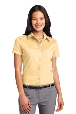 port authority ladies short sleeve easy care shirt l508