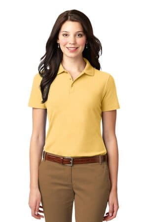 L510 port authority ladies stain-resistant polo l510