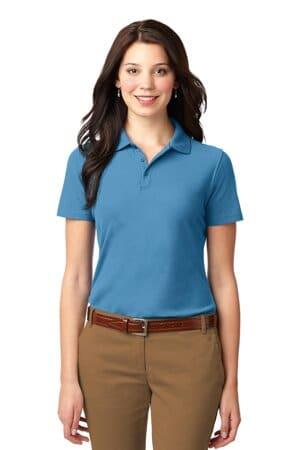 L510 port authority ladies stain-resistant polo